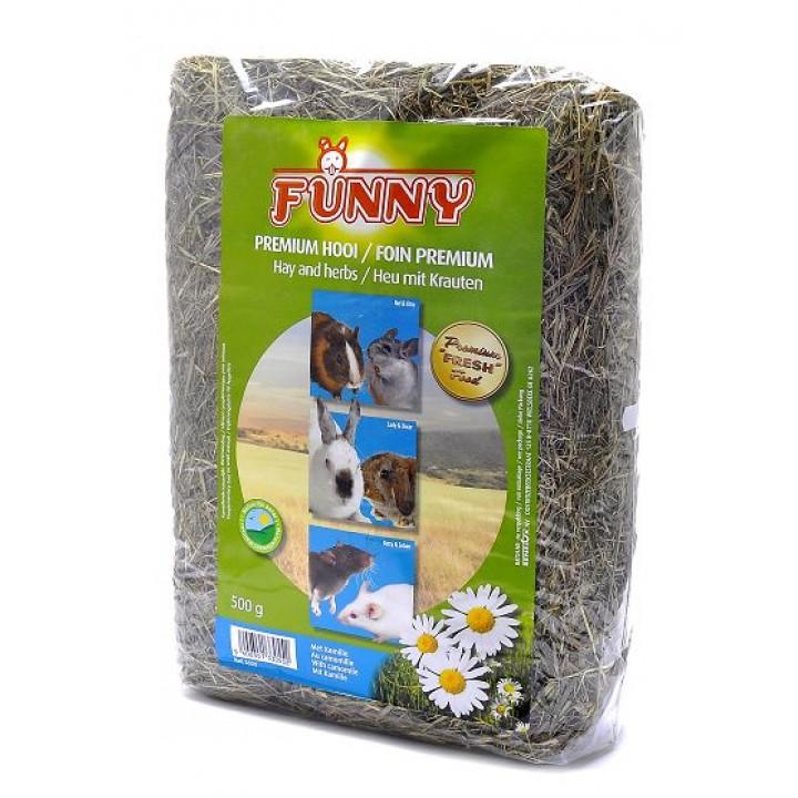 Benelux корма Сено с ромашкой (Hay with kamille) 3355, 0,500 кг, 31367