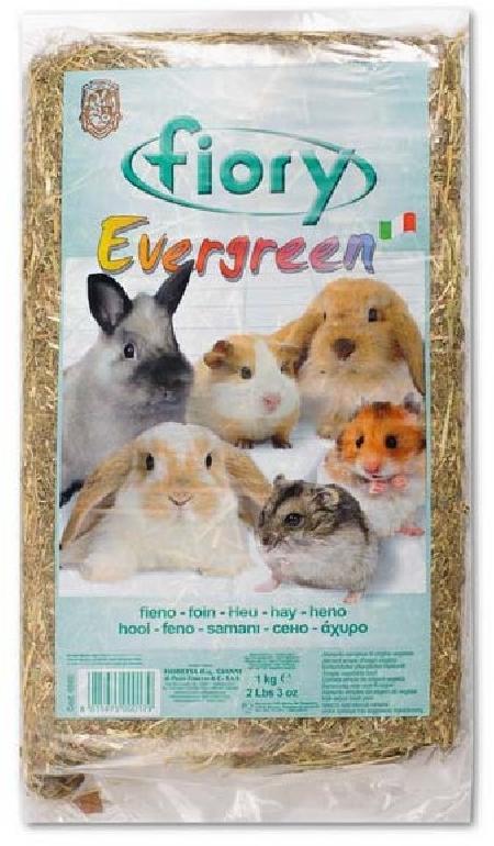 Fiory Evergreen сено для грызунов 1 кг