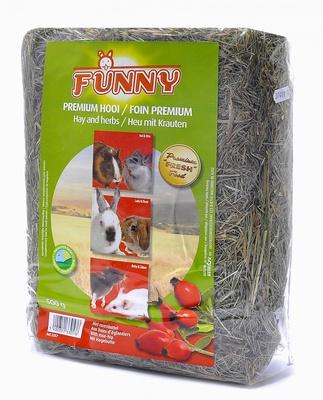 Benelux корма Сено с шиповником (Hay with rose-hip) 3357, 0,500 кг, 31368