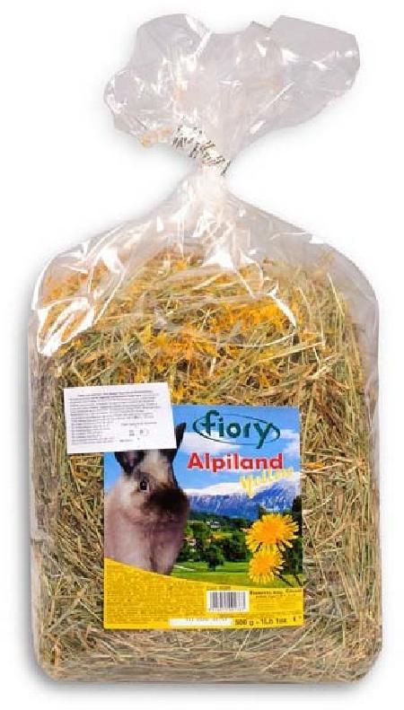 Fiory Alpiland Yellow сено альпийское, с одуванчиком 500 гр