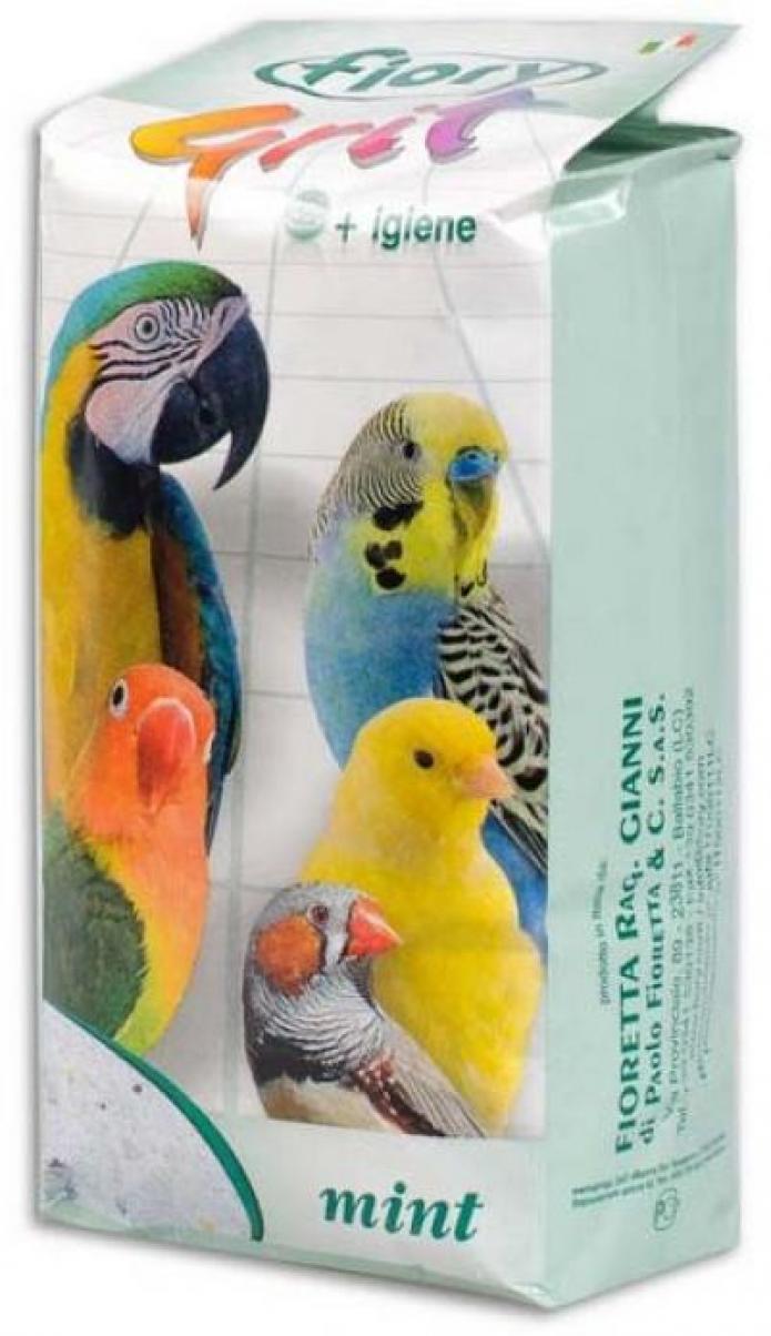 Fiory Grit Mint песок для птиц, мята 1 кг