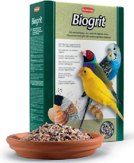Padovan Biogrit био-песок для птиц, с минеральными добавками 700 гр