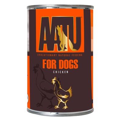 AATU Консервы Консервы для собак Курица (AATU CHICKEN) WAC400, 0,400 кг, 46924