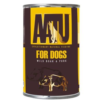 AATU Консервы Консервы для собак Мясо Дикого Кабана и Свинина (AATU WILD BOAR & PORK) WABP400, 0,400 кг, 46927