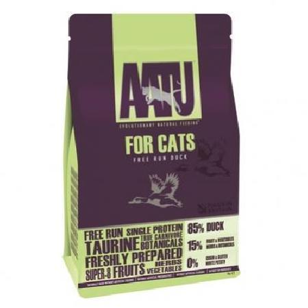 AATU корм для кошек беззерновой, с уткой 8 кг