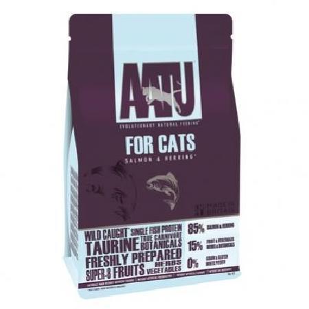 AATU Корм для кошек Лосось и Сельдь 85/15 (AATU CAT SALMON & HERRING) AFCAT8, 8 кг, 42743