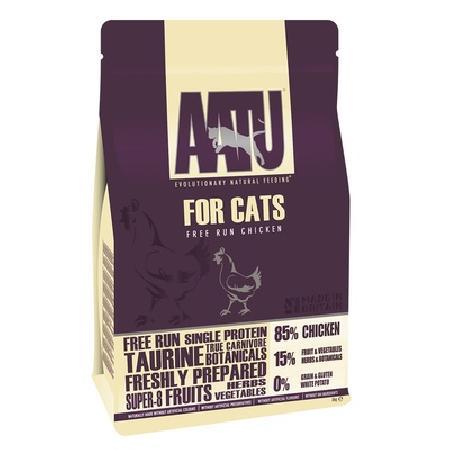 AATU ВИА Корм для кошек Курица 85/15 (AATU CAT CHICKEN) ACCAT200, 0,2 кг, 20883