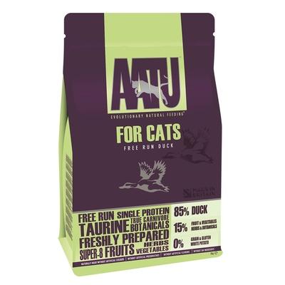AATU корм для кошек беззерновой, с уткой 1 кг