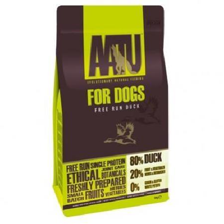 AATU корм для собак беззерновой, утка 10 кг