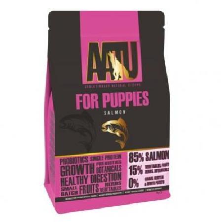 AATU корм для щенков, лосось 5 кг