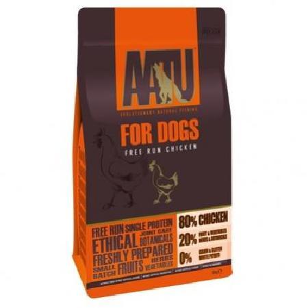 AATU корм для собак беззерновой, курица 1,5 кг