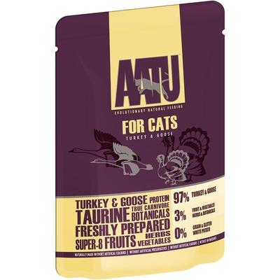 AATU Консервы Паучи для кошек Индейка и Гусь (AATU FOR CATS TURKEY & GOOSE) WACTG85, 0,085 кг, 20895
