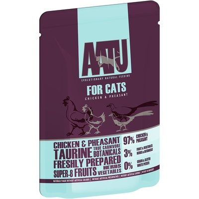 AATU Консервы Паучи для кошек Курица и Фазан (AATU FOR CATS CHICKEN & PHEASANT) WACCP85, 0,085 кг, 20894