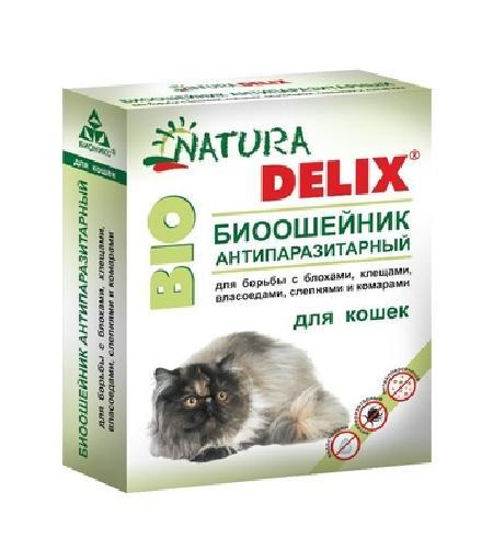 Бионикс Ошейник антипаразитарный Natura Delix BIO с алоэ-вера, для кошек 115129, 0,010 кг, 54195, 3100100553