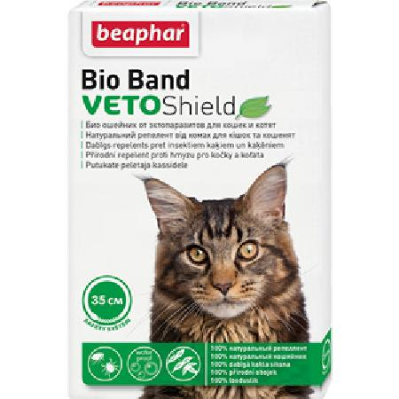 Beaphar Ошейник от насекомых для кошек и котят (Bio) 35см , 0,045 кг