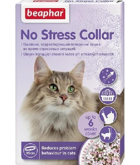 Beaphar Успокаивающий ошейник для кошек, 35 см (No Stress Collar), 0,032 кг