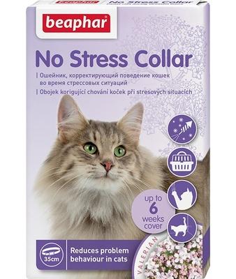 Beaphar Успокаивающий ошейник для кошек, 35 см (No Stress Collar), 0,032 кг, 25456, 25456