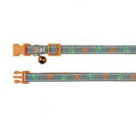 41871 Ошейник для кошки, со светоотражающими элементами, нейлон