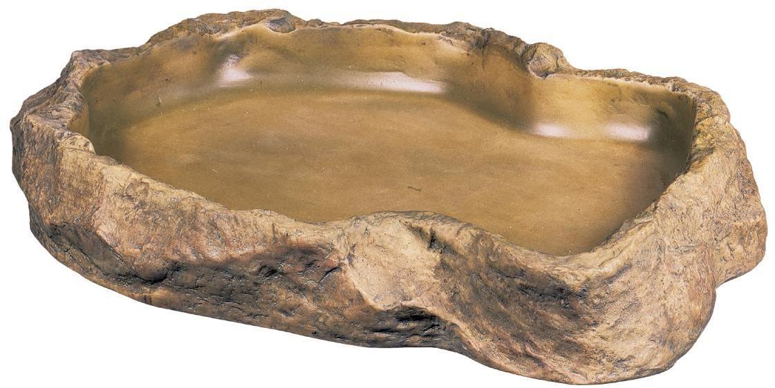 Hagen кормушка-камень пластиковая Feeding Dishes экстра-большая, PT2813, 400100559
