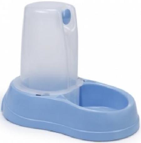 **Beeztees 650029 Миска-дозатор для воды голубая, пластиковая 1,5л, 80505