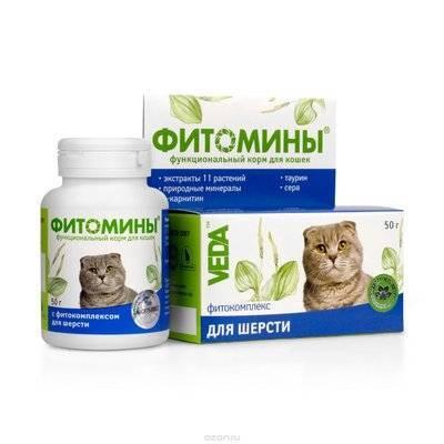 Веда Фитомины для Шерсти (кошка), 100таб., 0,050 кг