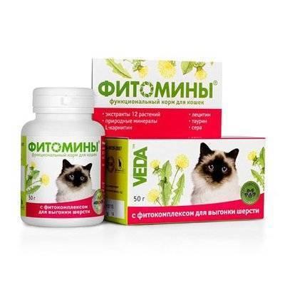 Веда Фитомины для Вывода шерсти, 100таб., 0,050 кг