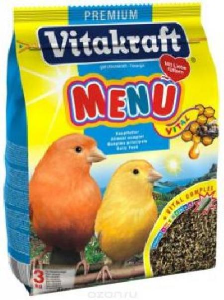 Vitakraft основной корм для канареек 500 гр