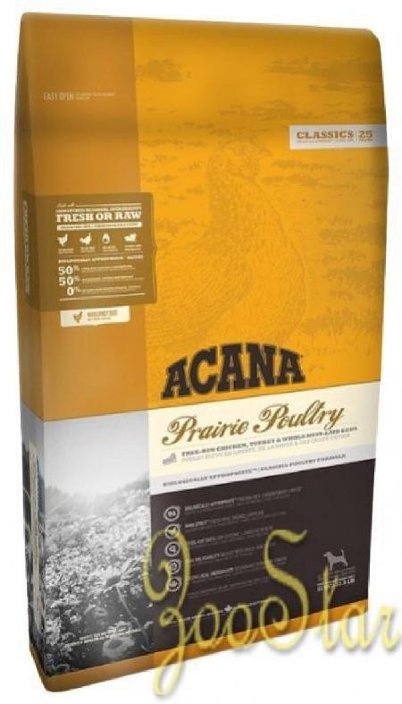 Acana Classics корм для взрослых собак всех пород, беззерновой, цыпленок 17 кг