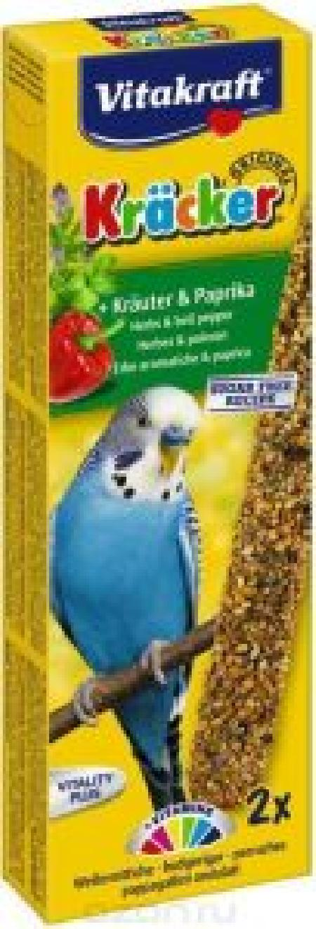 [94.145.017]  Vitakraft Крекеры для волн.попугаев с травами 2шт (1х10)  21280, 94.145.017