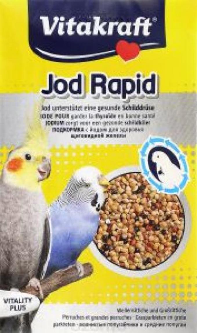 Vitakraft подкормка для волнистых попугаев, йодная 20 гр