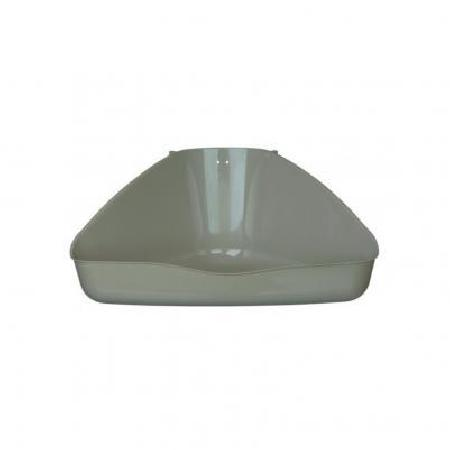Trixie Угловой туалет для кролика лоток открытый для грызунов цветной 36x30x21 см