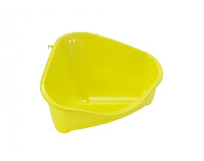 Moderna Туалет для грызунов pets corner угловой большой, 49х33х26, лимонно-желтый (pets corner large) MOD-R300-329., 0,400 кг, 24698.лимон
