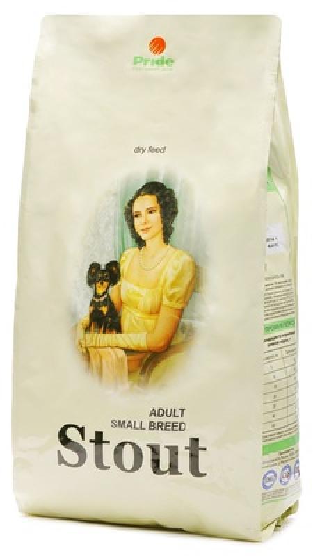 Стаут корм для взрослых собак малых пород, птица 3 кг