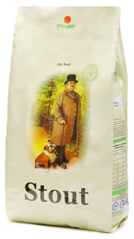 Стаут корм для собак всех пород, гипоаллергенный, ягненок и рис 3 кг