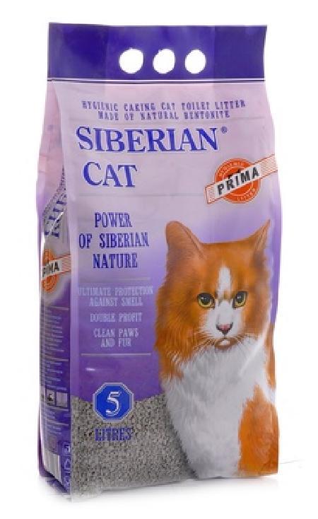 Сибирская кошка Прима: Комкующийся наполнитель, 5л, 5,000 кг, 26281