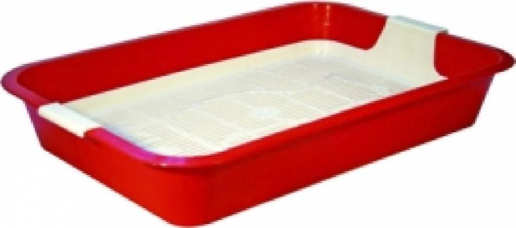 11040 туалет КИС с сеткой большой 40*26,5*6,5 см