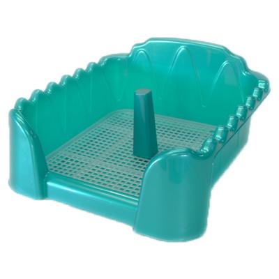 Homepet Туалет для собак бирюзовый перламутр cо столбиком (60см х 40см) 70086, 0,500 кг