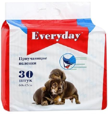 Everyday впитывающие пеленки для животных, гелевые 60х45,