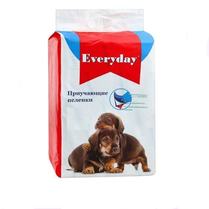 Everyday впитывающие пеленки для животных, гелевые 60х90,