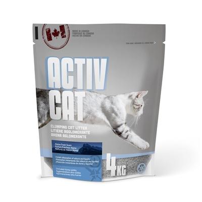 Canada Litter Комкующийся наполнитель ActivCat, аромат альпийской свежести (Scoopable Litter), 4,000 кг, 20829