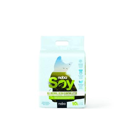 Canada Litter Комкующийся соевый наполнитель Noba Soy с активированным углем (Noba Soy)., 4,160 кг, 52427