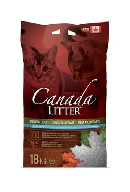 Canada Litter Канадский комкующийся наполнитель Запах на Замке, аромат детской присыпки (Scoopable Litter), 12,000 кг, 26261
