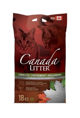 Canada Litter Канадский комкующийся наполнитель Запах на Замке, без запаха , 6,000 кг, 24513
