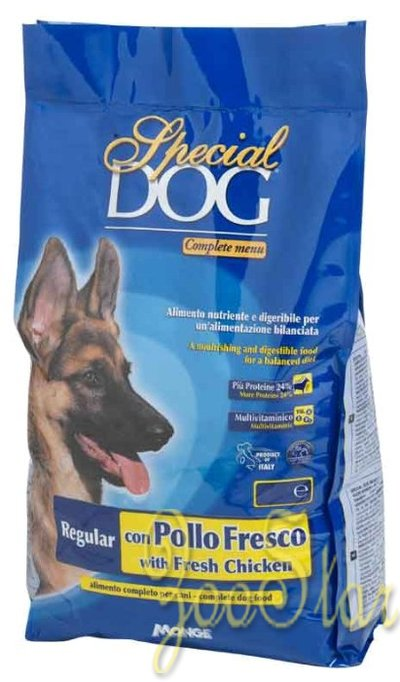 Special Dog корм для собак со свежей курицей 4 кг, 70007689