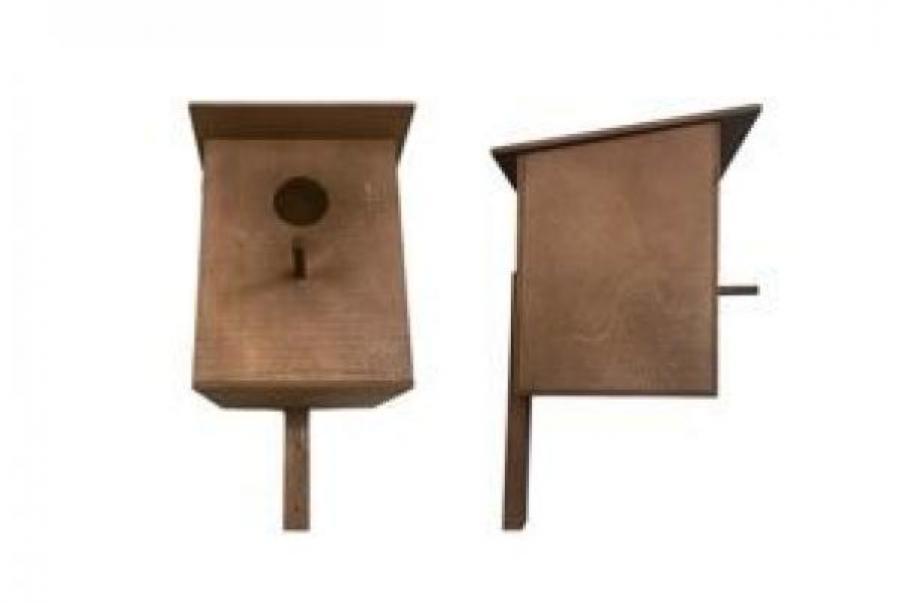 Дарелл 8505 Скворечник домик для птиц фанера коричневый