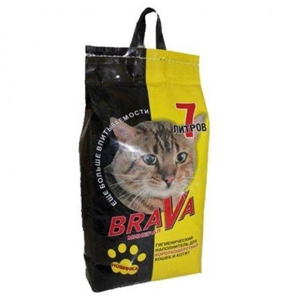 Брава 12440 Минерал Наполнитель дгладкошерстных кошек и котят 7л