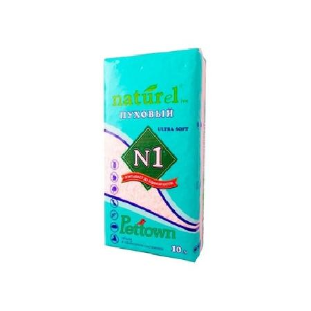 N1 ВИА Гигиеническая подстилка Naturel Пуховый 10 л, 0,8 кг, 35921