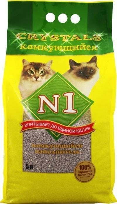 N1 комкующийся наполнитель для кошек 5 л