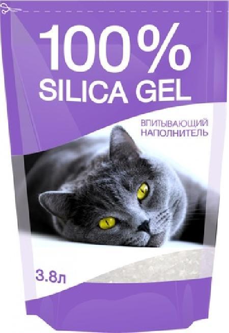 N1 Силикагелевый наполнитель 100% Silica Gel 3,8 л, 1,630 кг, 36106