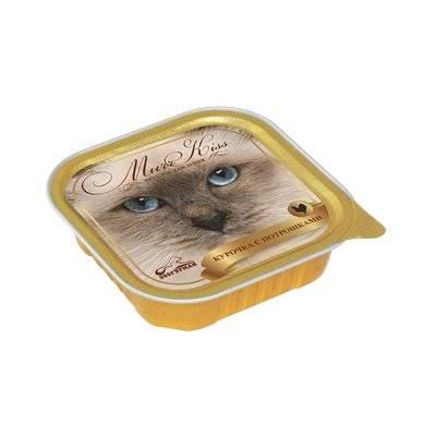Зоогурман МуррКисс влажный корм для взрослых кошек всех пород, курочка и потрошки 100 гр